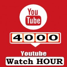 40000  Watch Hours to Your Youtube Video - Youtube Monetization Service