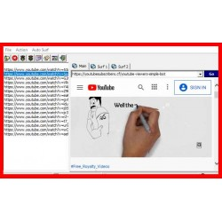 Get Video views using This Awesome Tool - Youtube Simple Bot